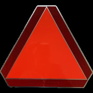 Langzaam verkeer bord ALU Klein