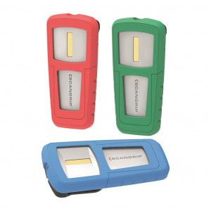Miniform COB werklamp color 3-pack
