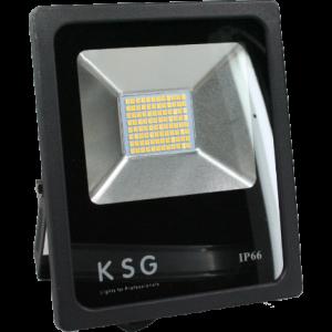 LED bouwlamp 230v 50w 6000 lumen