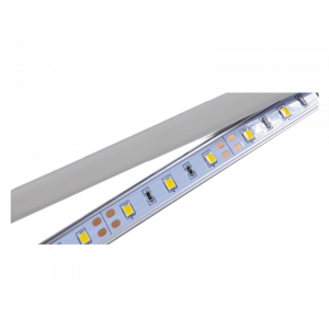 LED strip 1000mm wit 60 LED's 7,68W 12volt