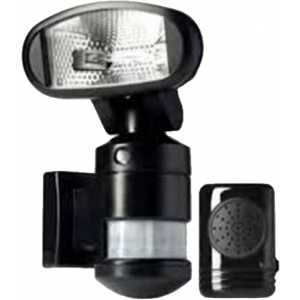 Nightwatcher 120W Halogeen+Dummy camera draadloze alarmunit