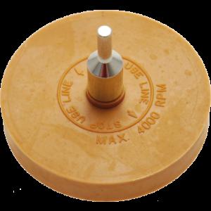 Folie/vignet verwijderaar schijf 90mm