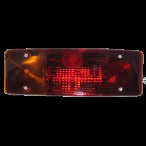 Achterlicht type WE549L Links met kentekenverl. 12/24V