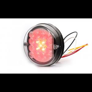 Achterlicht LED rond 115mm 12/24volt