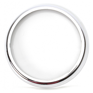 Chroom ring voor hamburger lamp W91-W95