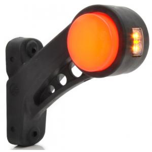 Markerings-breedtelamp LED schuin neon rechts