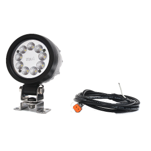 LED Werklamp rond 9 led 12/24V (Deutsch)