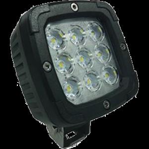 LED werklamp 9 leds 2800LM Deutsch zwart