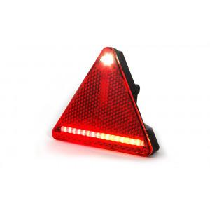 Driehoek Achterlicht LED kabel 1,5 mtr. rechts