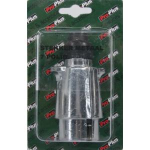 Blister stekker 7-polig metaal