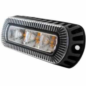 Stroboscoop 12/24v Amber 3 led