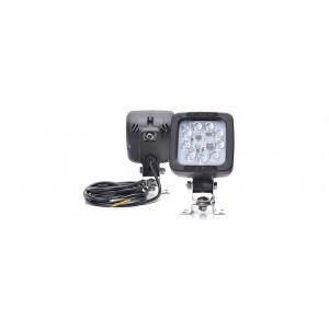 LED Werklamp 9 led 12/24V met schakelaar