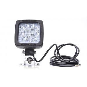 LED Werklamp incl. achteruitrij lamp 9 led 12/24V