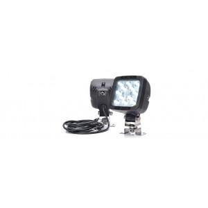 LED Werklamp 12 led m.schakelaar 12/24V