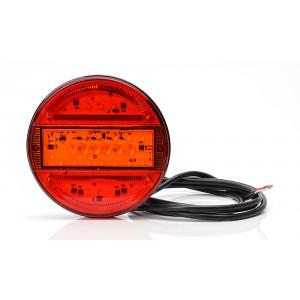 LED achterlicht 3 functies 12/24v 2mtr kabel (hamburger)