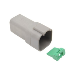 Deutsch connector male DT serie 6pins