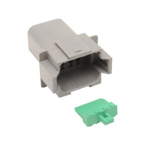 Deutsch connector male DT serie 8pins
