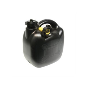 Jerrycan 10ltr zwart kunststof