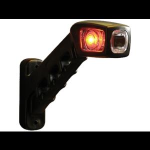 Markerings-breedtelamp LED rood/wit/oranje 238 rechts 12/24v